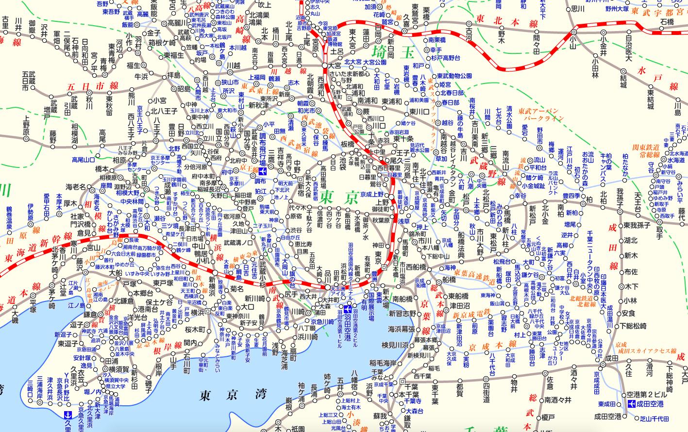 """全国版鉄道路線図の新たなカタチ、APIの提供で""""路線図のGoogle マップ""""目指す(5/21)"""