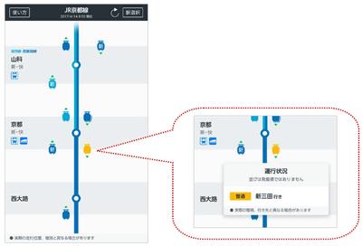 Jr 西日本 列車 走行 位置 列車走行位置サービスのエリア・路線を拡大します:JR西日本