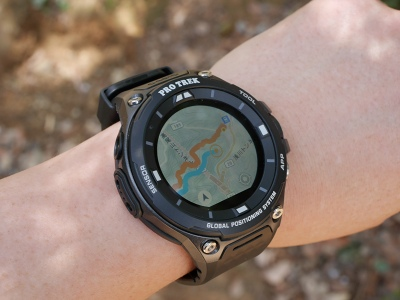 huge discount 9bc21 261e8 地図ウォッチ】 腕時計感覚でオフライン地図が使えるGPSウォッチ ...