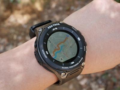 INTERNET Watch腕時計感覚でオフライン地図が使えるGPSウォッチ、カシオ「PRO TREK Smart WSD-F20」を試してみた