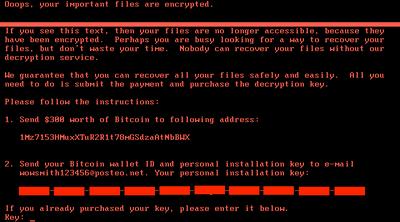 【ウイルス】新種ランサムウェア「GoldenEye」が世界各地に感染拡大 WannaCry同様の脆弱性を利用 感染率はWin7が78%、XPが14% [無断転載禁止]©2ch.netYouTube動画>1本 ->画像>15枚
