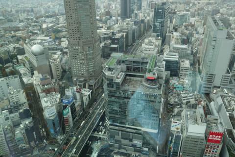 渋谷スクランブルスクエア ミクシィ