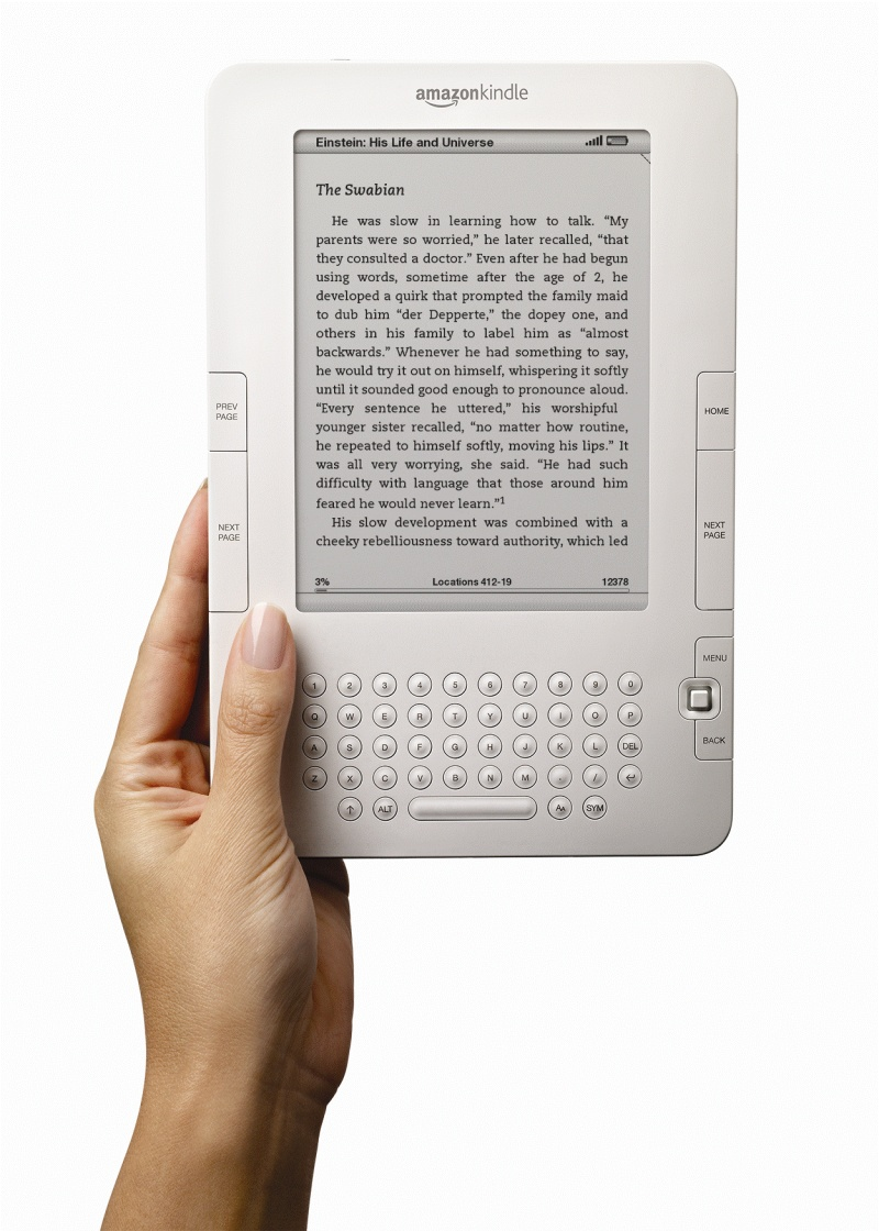 ▲Kindle (U.S. & International Wireless)
