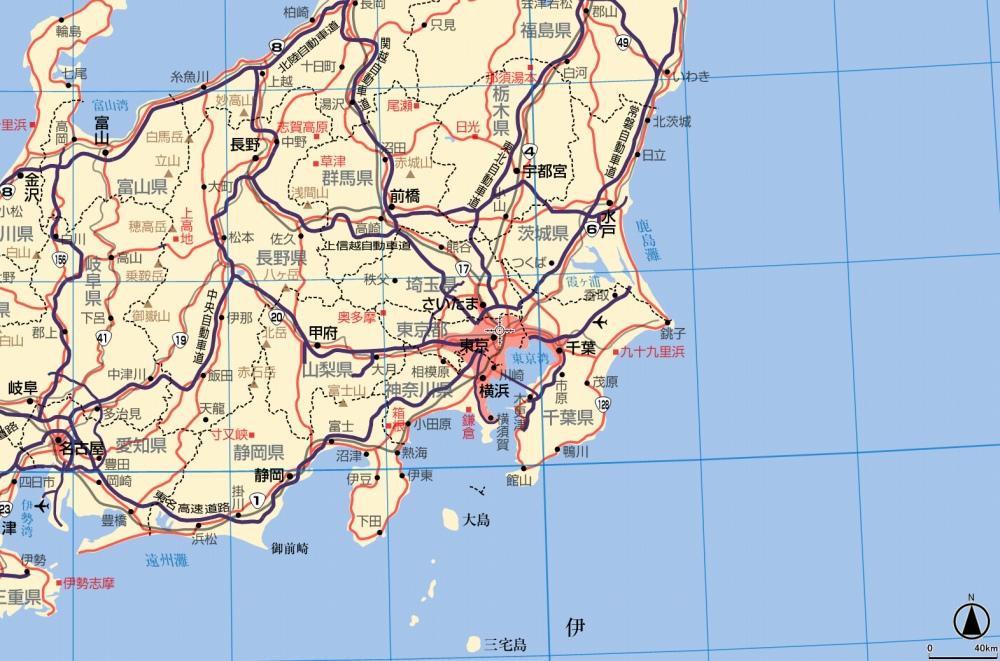 """第116回:""""超""""詳細図を収録 ... : 日本の河川地図 : 日本"""