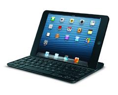 ロジクール、iPad miniに最適化した画面カバー一体型キーボード「TM710」