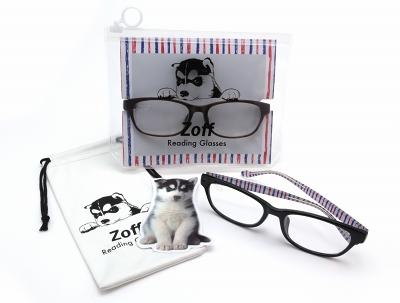 Zoff、PCレンズ搭載のおしゃれな老眼鏡シリーズ、R-40世代向けに発売