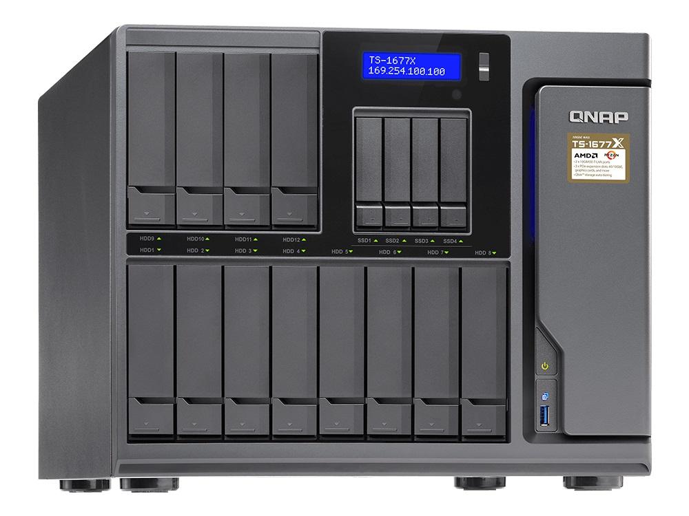 テックウインド、グラフィックカードが搭載できるGPUアクセラレーション対応NAS「QNAP TS-1677X」を販売