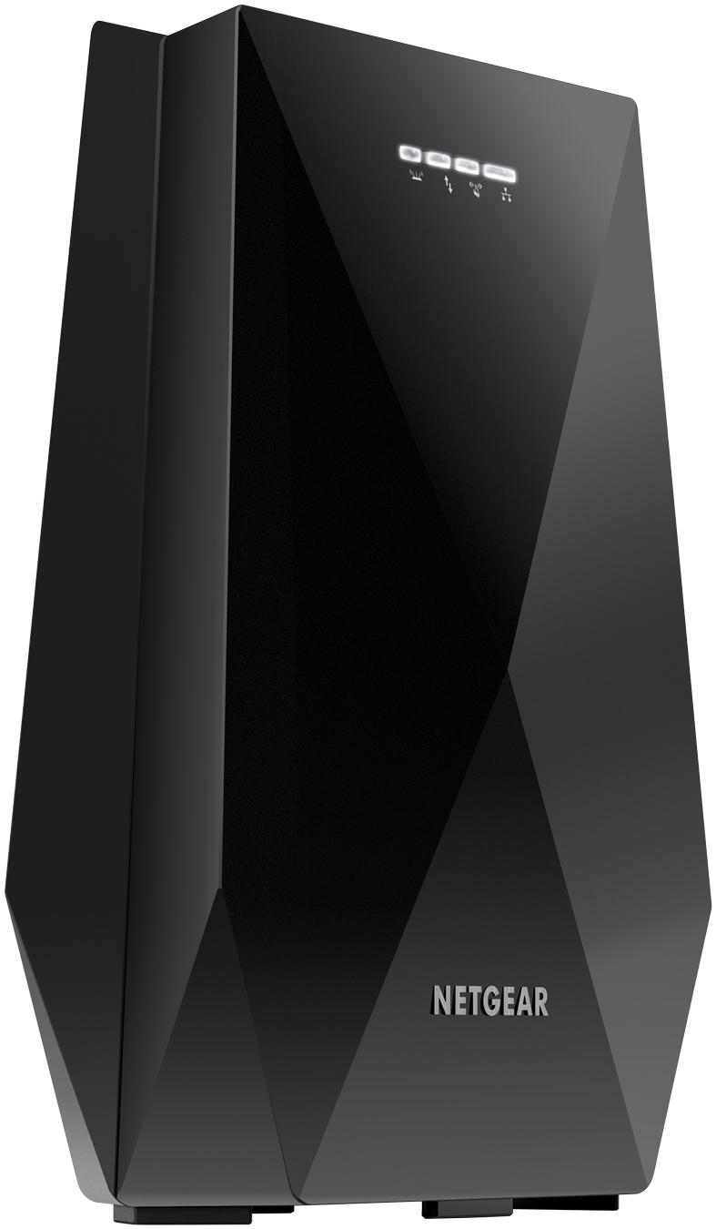 同じSSIDでシームレスに接続できるWi-Fi中継器「Nighthawk X6 EX7700-100JPS」、トライバンドに対応、ネットギアジャパンが発売