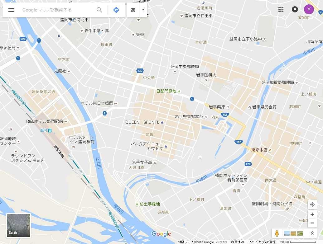 ヌ ディストビ チ グーグル マップ