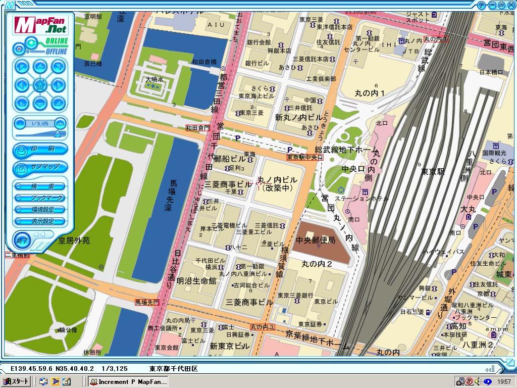 インクリメントP、地図ソフト「M...